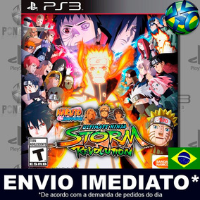 Ps3 Naruto Shippuden Ultimate Storm Revolution Código Psn