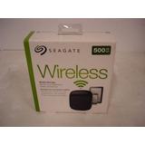 Seagate Hd Wireless 500gb Preto - Aberto Só Para Testar