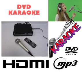 Dvd Video Mp3 Knup Bi Volt Karaokê Usb Microfone Dinamic