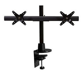 Ergotech Dual Lcd Monitor Stand With Desk Clamp (100-c16-b02