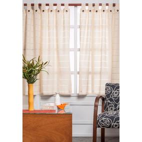 Cortinas rusticas para cocina cortinas en mercado libre for Cortinas para cocina rustica