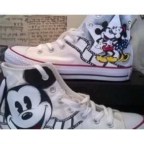 converse mickey mouse