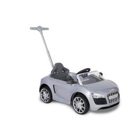 Montable Push Car Audi Plata Prinsel