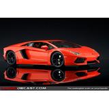 Lamborghini Aventador Burago Escala 1:18 A Pedido 20 Dias