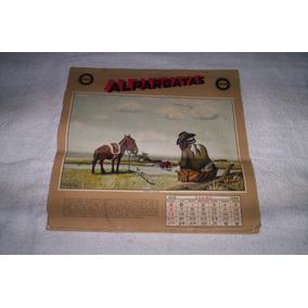 Antiguo Almanaque Alpargatas Molina Campos 1935..