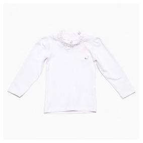 5d02821481 Blusinha Manga Longa Gola Alta Cotton - Missfloor