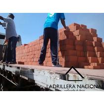 Millar Ladrillo Tabique Rojo 6x12x24 P/costrucción 100%barro