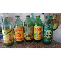 Botellas Aceite Antigua