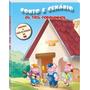 Livro Infantil Conto E Cenário - Os Três Porquinhos