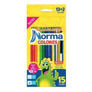Colores Redondo X 13 + 2 Norma - Unidad a $1080