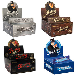 Seda Smoking Com 50.temos:brown,preta,prata,blue!menor Preço