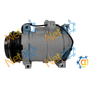 Compressor Denso Daily 4pk 12v + Condensador Denso Daily