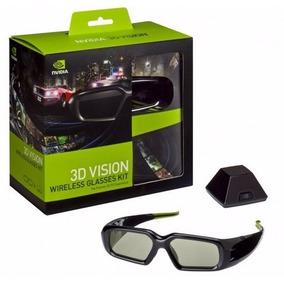 Gafas Nvidia 3d Vision Kit Incluye Unidad Inalámbrico Emisor