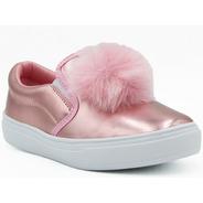 Oferta Descuento Promoción Tenis Pompon Calzado Niña Rosa