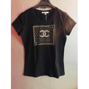 Blusa Chanel Con Pedrería 40fa88b8abf7e