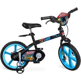 Bicicleta Aro 14 Liga Da Justiça Bandeirante