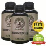 03x Tribuus Puro Terrest Three Of Life 360cap + Frete Grátis