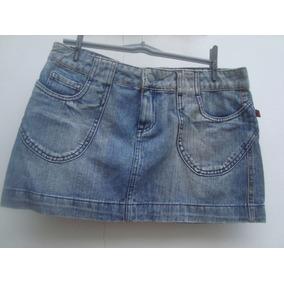 Mini Saia Jeans Da Hand Book Tam G