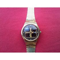 Reloj De Pulsera Vintage Citizen Crystron Analogo Solar