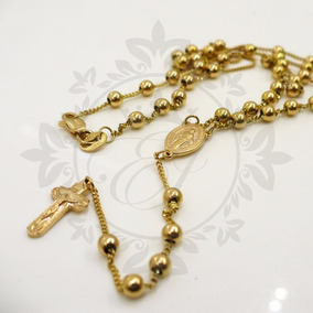 0d748336a2e6 Rosario De Oro De Mujer - Collares de Oro en Mercado Libre Argentina