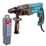 Rotomartillo Percutor Taladro Makita 780w + Set Makita 10 Sd