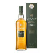Whisky Single Malt Glen Grant 10 Años 1000ml En Estuche