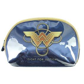 Wonder Woman Blue Cosmetics Bag