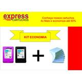Kit 662 Com Tinta Comestível + 100 Uni Papel Arroz