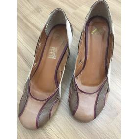 Sapato Montelli Scarpin Semi Novo Numero 35