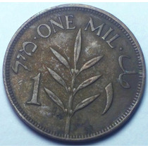 Palestina Moeda Escassa 1 Mil 1927 Domínio Inglês Bronze
