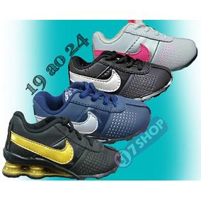 Tenis Infantil Nike Shox Bebe 4 Mola Infantil Deliver
