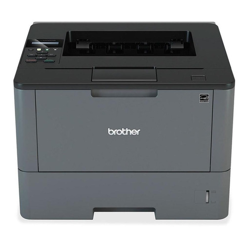 Impresora Brother HL-L5 Series HL-L5100DN 220V negra y gris