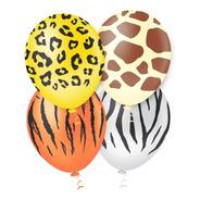 Balão Bexiga Safari - Tam. 10 C/25 Unidades - Pic Pic