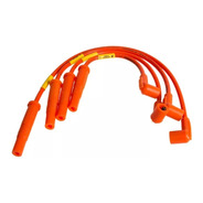 Cables De Bujia Competicion Ferrazzi 9mm Fiat Uno Fire 1.3 1.4 8v 1 Sola Bobina
