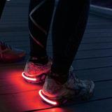Puro Luz Led Roja Para Tus Zapatillas - Running