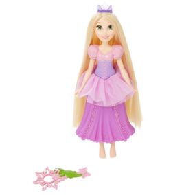 Boneca Princesas Disney - Bolhas Mágicas - Rapunzel - Hasbr