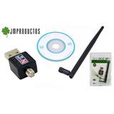 Antena Wifi Lan Mini Usb 300mbps 2.0 Wireless Desmontable