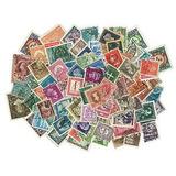Lote 50 Estampillas Estampilla Antiguas Antigua Coleccion