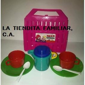 Set De Te/ Juguete Accesorios De Cocina Para Niñas