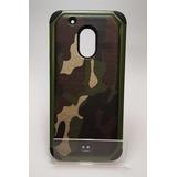 Protector Uso Rudo Militar Moto G4 Play Verde