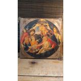 Arte Sacro Cuadro Siglo 19 Reproducción Estilo Antiguo