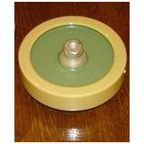 Capacitores Ceramicos 500pf X 12kv 15 Kva Diametro 7 Cm.