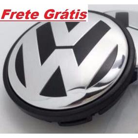 Calota Miolo P/centro Roda Volkswagen 65mm Novo Jetta Amarok