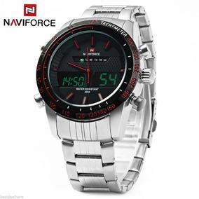 Reloj Naviforce Original Digital Análogo Con Estuche Y Cojín