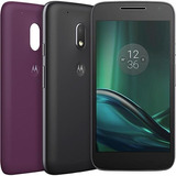 Smartphone Moto G4 Play Colors 16gb Tela 5 4g+brinde+nota F