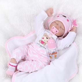 Bebê Reborn Ana Veronica 55cm - Pronta Entrega