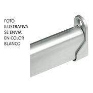 Caño Barral Oval Para Placard 80 Cm Color Blanco + Soportes