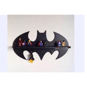 Repisa Infantil Grande Perchero Batman Niños