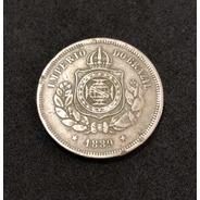 Moeda Antiga 100 Réis Império Do Brasil 1889
