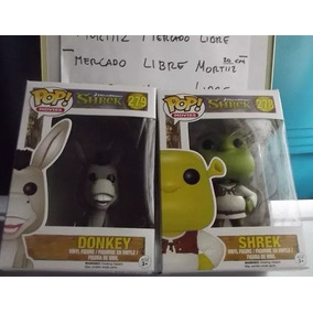 Pack Burro + Shrek Funko Pop Movies Dreamworks Original